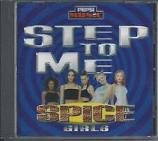 SPICE GIRLS - Step to me CDM PROMO 4TR JEWELCASE UK PRINT 1997