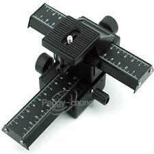 4 Way Macro Focusing Rail Slider for Close-up Shooting