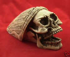 Made USA Indian Skull Shift Knob Hot Street Rat Rod Motorcycle #1 Hood Ornament