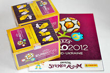 PANINI EM EURO 2012 International Version: 2 X BOX DISPLAY + ALBUM VUOTO album