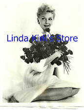 """Mary Martin with Roses Promotional Photograph """"Bing Crosby Show"""" ABC-TV 1962"""