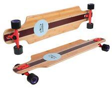 HUDORA 12811 Longboard Del Mar Board Komplett Skateboard