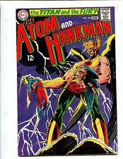 THE ATOM & HAWKMAN #40 THE EXPLOSIVE EXPLOIT OF THE SPLIT-ATOM! (7.5) 1969