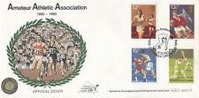 (09205) GB Benham FDC BOCS23 Sport Amateur Athletics Crystal Palace 10 Oct 1980
