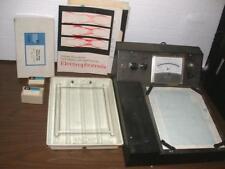 Gelman Instrument Company Optical Density Tester Electrophoresis Chamber Manual