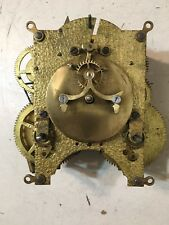 Antique Ansonia Open Escapement Clock Movement From Iron Case