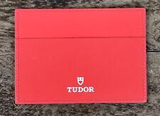 Tudor portafoglio titolare Certificato Monte Carlo FastRider Submariner Nero Bay Rosso