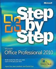 NEW Microsoft Office Professional 2010 Step by Step by Joan Lambert