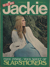Jackie Magazine 6 March 1971 No.374  Emerson Lake & Palmer  Mike Bottes of Bread