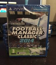 Football Manager Classic 2014 sur PS Vita, neuf sous blister VF !