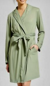 New Soft XL XXL Women's Mid-Weight Robe - Gilligan & O'Malley  Pioneer Sage