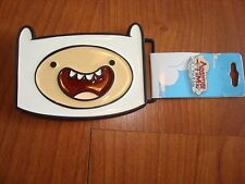 Adventure Time Cartoon Finn Big Face Belt Buckle NEW WITH TAGS