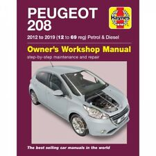 Peugeot 208 2012-2019 Benzin Diesel Reparaturanleitung Haynes