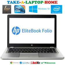 HP Folio EliteBook Laptop Intel Core i5 Gaming Intel HD 4000 Win10 320Gb 4GB 14""