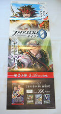 "Fire Emblem Cipher Fates Ryoma Xander 10x28"" promotional display poster"