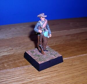American War of Independence Lead Hand Painted Model Soldier on Plinth