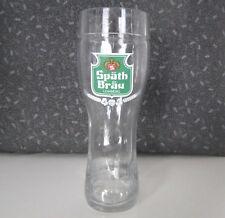 Bierstiefel Glas 0,25 l SPÄTH BRÄU LOHBERG Osser Bier Bayern Bierglas Trinkglas