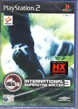 Gioco NEW SEALED Play Station 2 PS2 INTERNATIONAL SUPERSTAR SOCCER 3 ITA