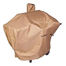 "NEW Weather Resistant Nylon Heavy Duty 24"" Pellet Grill Patio Cover, Tan"
