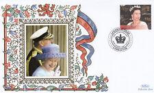(19258) Gibraltar Benham Cover Queen Golden Jubilee anniversary 6 February 2007