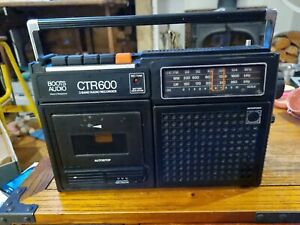 Retro Vintage Boots CTR-600 Vintage Portable Cassette Tape Radio Player