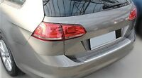 MATT gebürstet Edelstahl Ladekantenschutz Abkantung für VW Golf 7 VARIANT ab 012