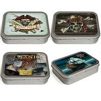 Personalised Pirate Tobacco Tin 2oz Baccy Fathers Day Cigarette Birthday Gift