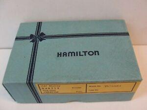 VINTAGE HAMILTON WATCH BOX - BOX ONLY
