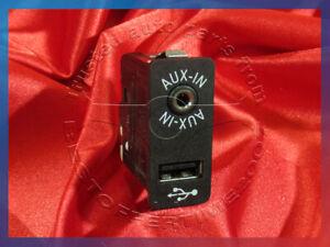 BMW 1 3 5 6 7 X1 X3 X4 X5 X6 Z4's USB PORT AUX AUXILIARY IN INPUT SOCKET 9237653