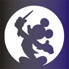 PEGATINA - STICKER - MICKEY FOCO - VINILO - VINYL -WALL DECAL - DISNEY - Aufkleb