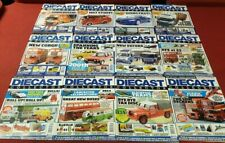 2014 12 Issues 195 - 206 Diecast Collector Magazine Full Run Year
