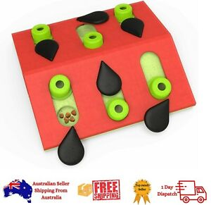 Interactive Cat Treat Puzzle Toy - Nina Ottosson Melon Madness Puzzle & Play