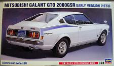 1973 Mitsubishi Colt Galant GTO 2000 GSR early Dodge Colt 1:24 Hasegawa 21130