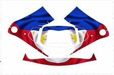 3M Speedglas 9100 Fx Auto Sw Jig Schweißen Abziehbild Flagge der Philippinen