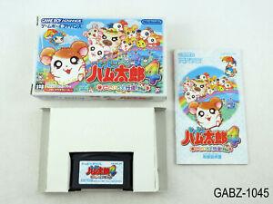 Complete Tottoko Hamtaro 4 Game Boy Advance Japanese Import GBA Japan US Seller