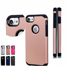 Dual Layer Protective Case Cove For Apple iPhone 7 Plus Samsung Note S6 S7 LG K8