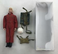 Action Man Loose Figure with Red Devil Parachute Outfit