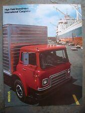 Original Vintage IH International Harvester Cargostar truck brochure flyer