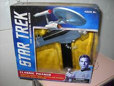 Diamond Select STAR TREK TOS Classic Phaser Pistol MIB NEW tested working