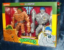 NECA Cartoon TRAAG & GRANITOR Figure Set Target Exclusive TMNT Turtles New