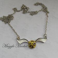 Friendship necklace snitch quidditch. Magical/symbol. Dumbledore/Hermione/Harry