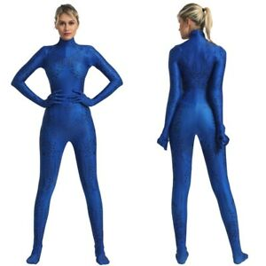 X-Men Mystique Jumpsuit Bodysuit Halloween Cosplay Costume