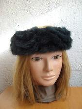 """NEW GREEN MINK FUR HEADBAND HEAD WRAP WOMEN WOMAN SIZE 21.5"""" LONG X 2"""" WIDE"""