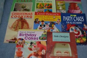 CAKE MAKING AND DECORATING BOOKS