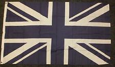 Navy Blue and White UK Flag Union Jack Sports Chelsea Rangers Everton Scotland