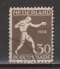 NVPH Netherlands Nederland nr 219 used 1928 Olympiade Amsterdam Pays Bas