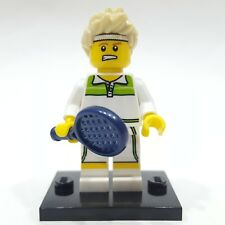"""LEGO Collectible Minifigure #8831 Series 7 """"TENNIS ACE"""" (Complete)"""