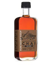Chai Infused Pure Maple Syrup - Pure Grade A Dark 8.4oz