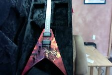 2012 Dean Dave Mustaine VMNT Peace Sells Signature Flying V Guitar Megadeth