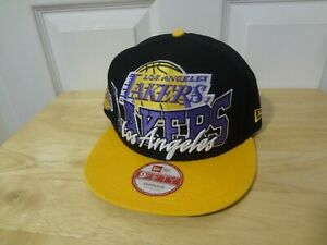 NBA Los Angeles Lakers Snapback M/L Cap Hat New Era 9FIFTY NEW HW Collection